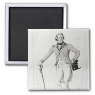 Thomas Bruce, 7th Earl of Elgin 2 Inch Square Magnet
