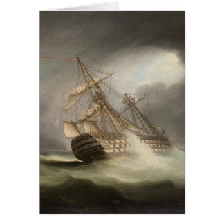 Thomas Buttersworth - H.M.S. 'Victory' Card