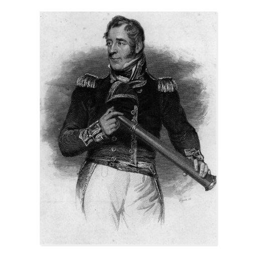 Thomas Cochrane, conde Dundonald Tarjeta Postal