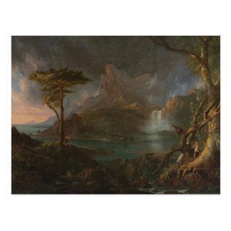 Thomas Cole - A Wild Scene Postcard
