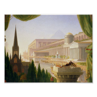 Thomas Cole - Architect's Dream Poster