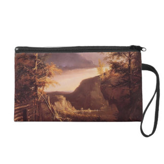 Thomas Cole- Daniel Boone Sitting at the Door Wristlet Clutch