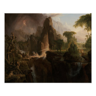 Thomas Cole - Expulsion from the Garden of Eden Poster