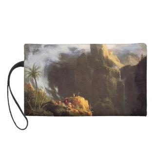 Thomas Cole- Landscape. St John in the Wilderness Wristlet Purse