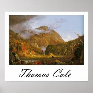Thomas Cole Notch of the White Mountains Poster
