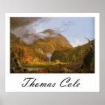 Thomas Cole Notch of the White Mountains Print