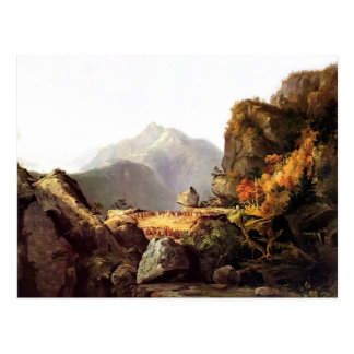 Thomas Cole- Scene from 'The Last of the Mohicans' Postcard