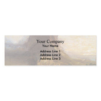 Thomas Cole-Study of Youths Enter a Pilgrimage Business Cards