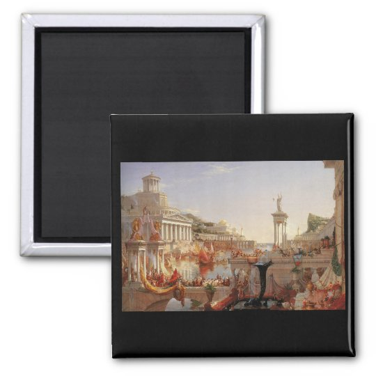 Thomas Cole The Course of Empire Consummation Magnet
