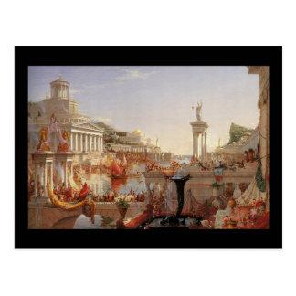Thomas Cole The Course of Empire Consummation Postcard