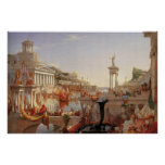 Thomas Cole The Course of Empire Consummation Print