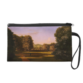 Thomas Cole- The Gardens of the Van Manor House Wristlet Clutch