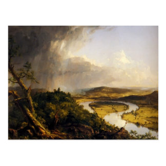 Thomas Cole- The Oxbow , the Connecticut River Postcard