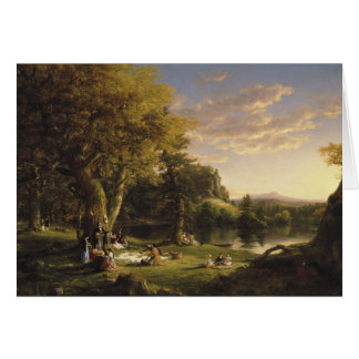Thomas Cole - The Pic-Nic Card