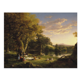 Thomas Cole - The Pic-Nic Postcard