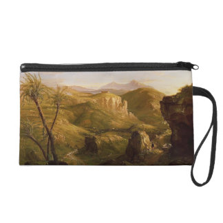 Thomas Cole-The Vale and Temple of Segeste, Sicily Wristlet Purse