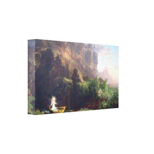 Thomas Cole - The Voyage of Life - Youth Canvas Print