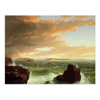 Thomas Cole: View Across Frenchman`s Bay Post Card
