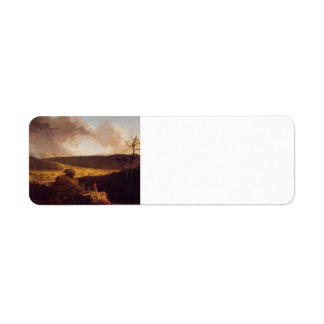 Thomas Cole- View of L`Esperance Schoharie River Return Address Labels