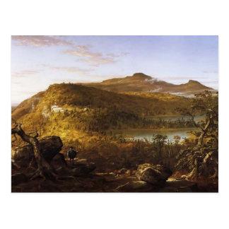 Thomas Cole-View of the Two Lakes & Mountain House Postcard