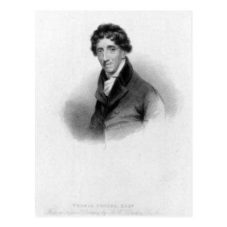 Thomas Coutts, Esq. dibujado por A. Chisholm Postal