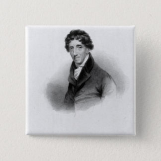 Thomas Coutts, Esq. drawn by A. Chisholm Pinback Button