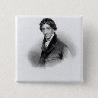 Thomas Coutts, Esq. drawn by A. Chisholm Pinback Button