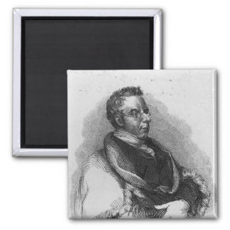 Thomas Curson Hansard, 1824 Imán Cuadrado