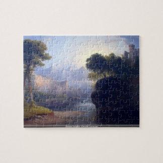Thomas Doughty - Fanciful Landscape puzzle