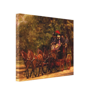 Thomas Eakins-A May Morning in the Park Stretched Canvas Prints