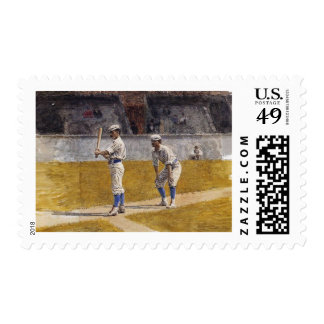 Thomas Eakins - Baseball Players Praciticing Postage