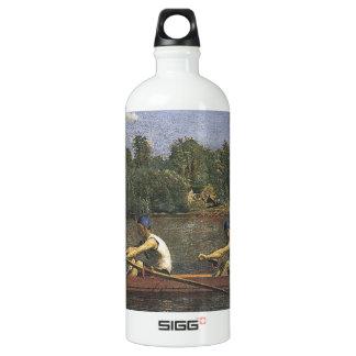Thomas Eakins Biglin Brothers Racing Aluminum Water Bottle