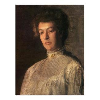 Thomas Eakins- Portrait of Mrs. Kern Dodge Postcard