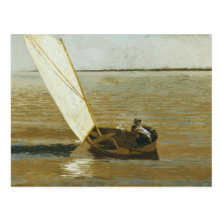 Thomas Eakins - Sailing Postcard