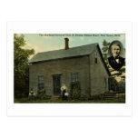 Thomas Edison Boyhood Home - Vintage Postcard