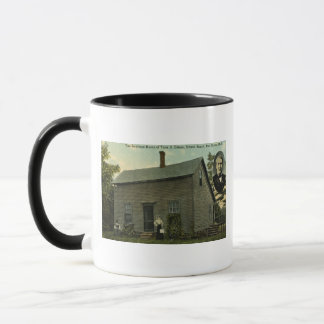 Thomas Edison Boyhood Home - Vintage Postcard Mug