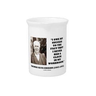 Thomas Edison debe éxito nunca tenía taller del Jarras De Beber