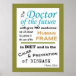 Thomas Edison Doctor of Future Poster