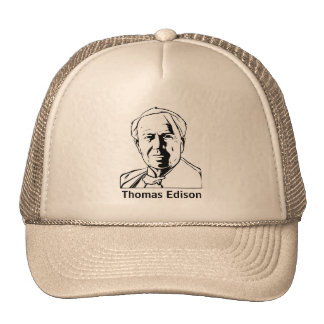 Thomas Edison - hat