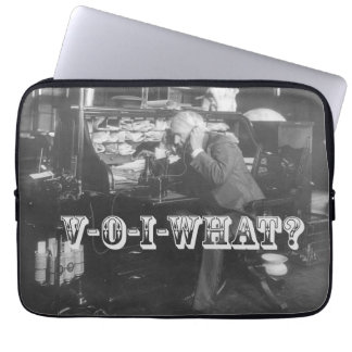 Thomas Edison Hears About VoIP Laptop Sleeve
