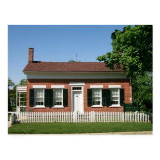 Thomas Edison House Postcard
