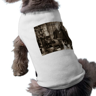 Thomas Edison in His Lab Stereoview Tee