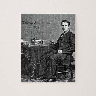 Thomas Edison Jigsaw Puzzle
