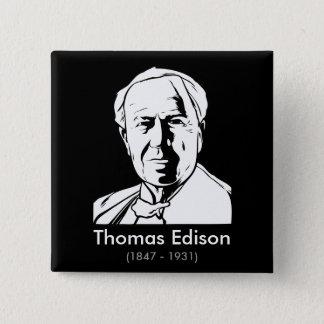 Thomas Edison - real genius Button
