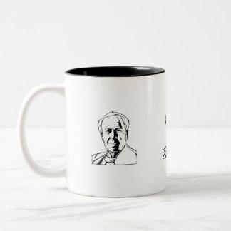 Thomas Edison - real genius Two-Tone Coffee Mug
