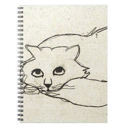 Thomas el gato libreta espiral