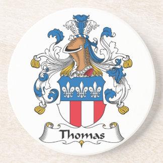 Thomas Family Crest Coaster