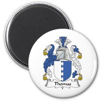 Thomas Family Crest Magnet
