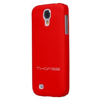 Thomas Full Red Samsung Galaxy S4 case