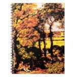 Thomas Gainsborog - paisaje del otoño Libro De Apuntes Con Espiral